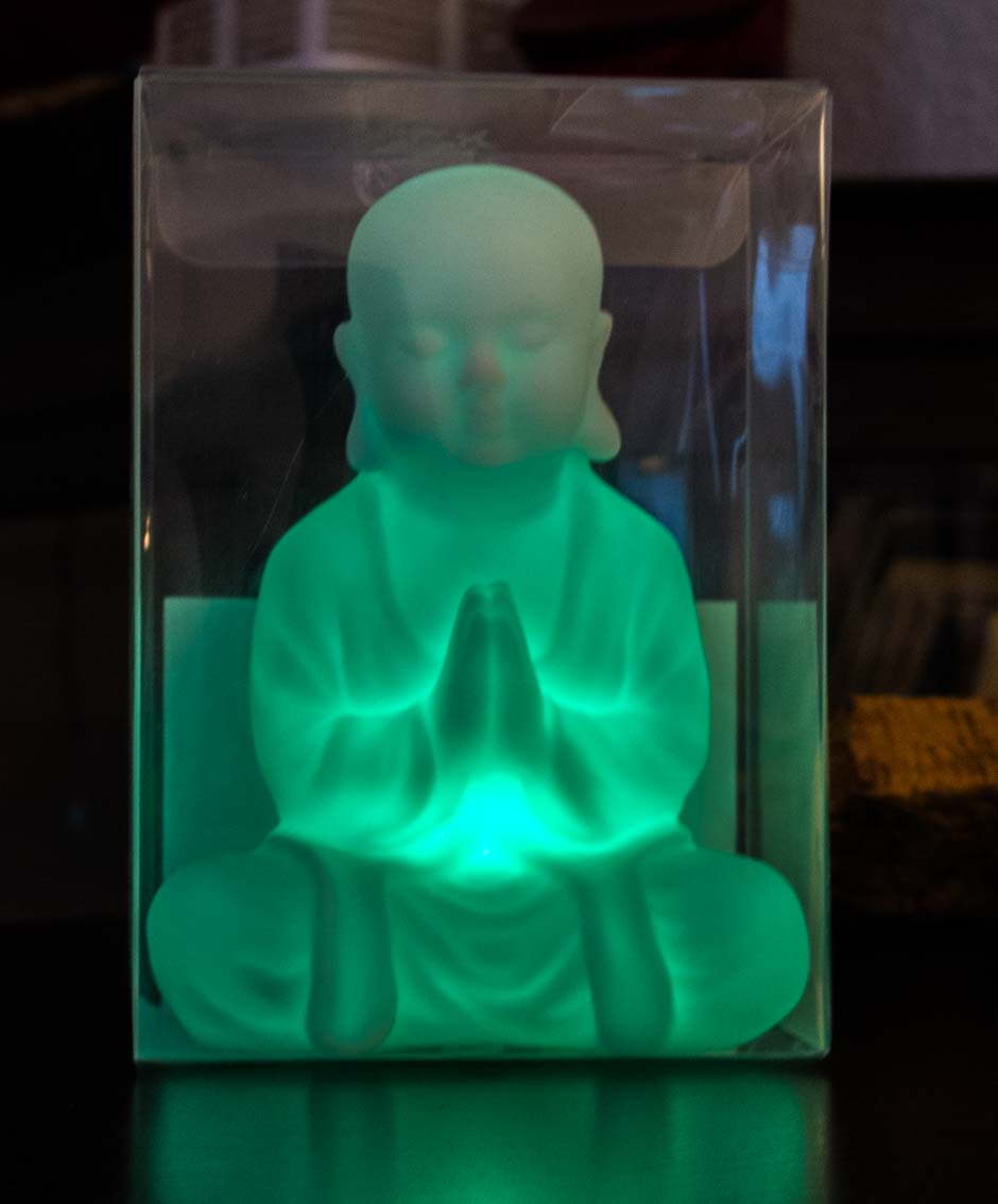 buddha in der box